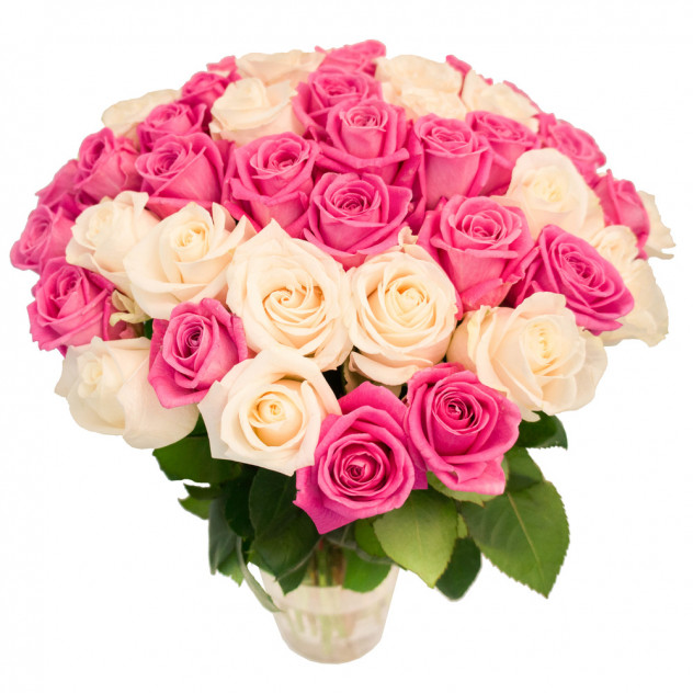 Букет из 55 роз № 4